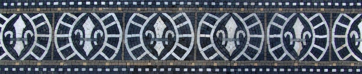 Mosaic Border - Celtic Geometry