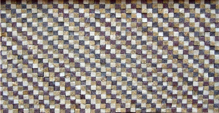 Mosaic Tile Patterns - Tricolor