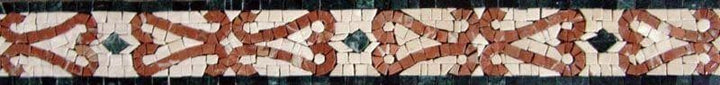 Mosaic Tiles Patterns - Border