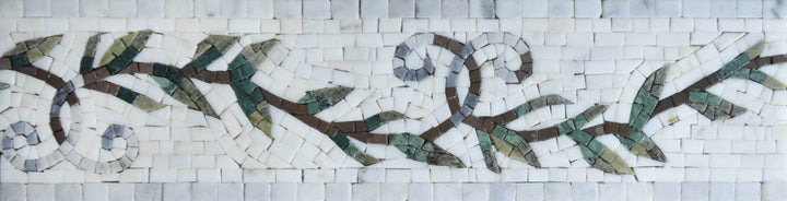 Mosaic Border - The Great Vine