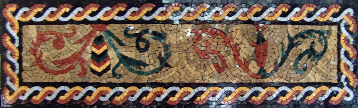 Mosaic Frieze Art - Moyen Orient