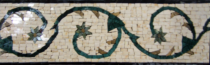 Mosaic Tile Patterns - Blossoms