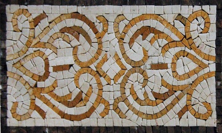 Estelle - Geometric Mosaic Border