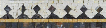 Mosaic Border Art - Pattern Tiles