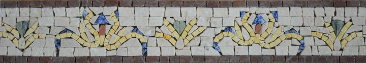 Mosaic Border Art - Romania Arabesque