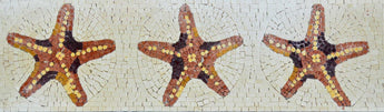 Mosaic Patterns - Starfish