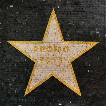 Star For Your Graduating Class On Marble Mosaic