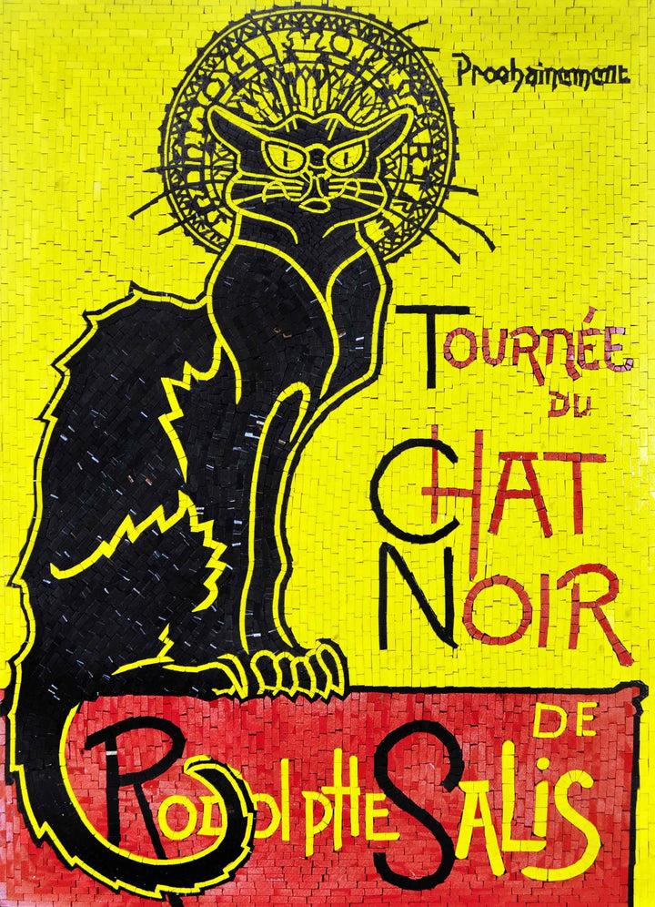 Le Chat Noir Custom Mosaic
