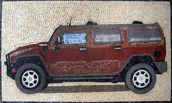 Hummer Customized Mosaic