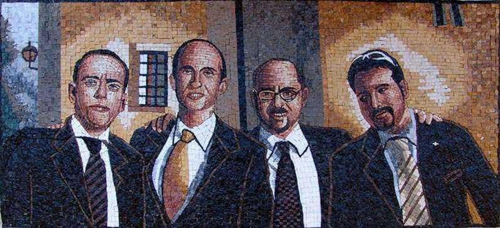 Friends Customized Mosaic