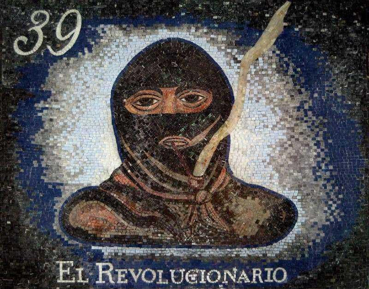 El Revolucionaro Customized Logo Mosaic