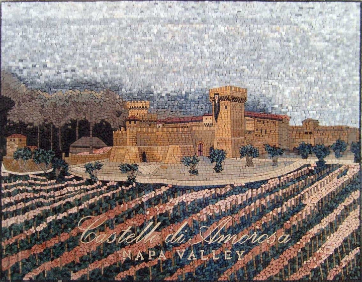 Winery Village Customized Logo Mosaic