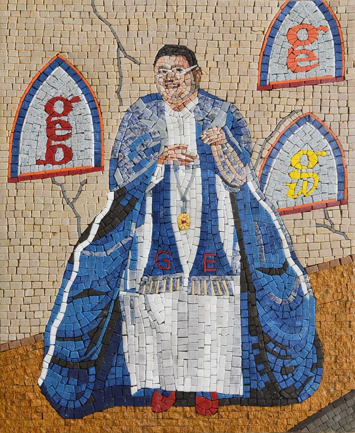 Graham Elliot Portrait Mosaic
