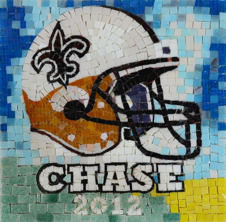 Custom Football Mosaic