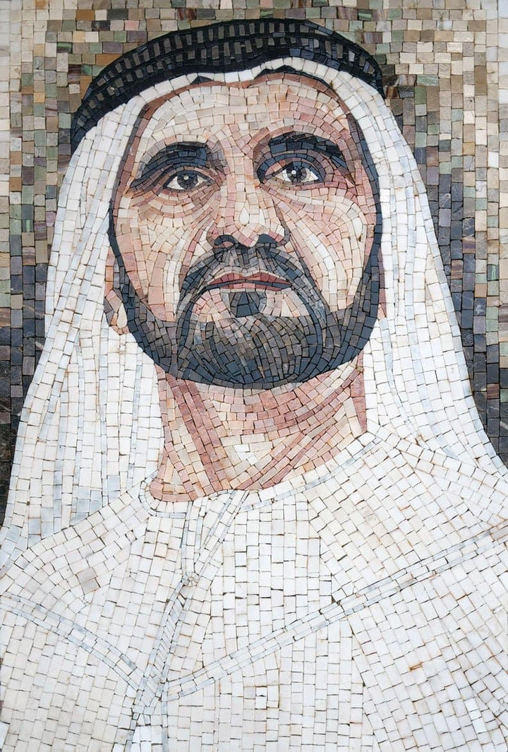 Prince of UAE Custom Made Marble Mosaic