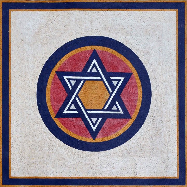 Mosaic Signs - The star of david