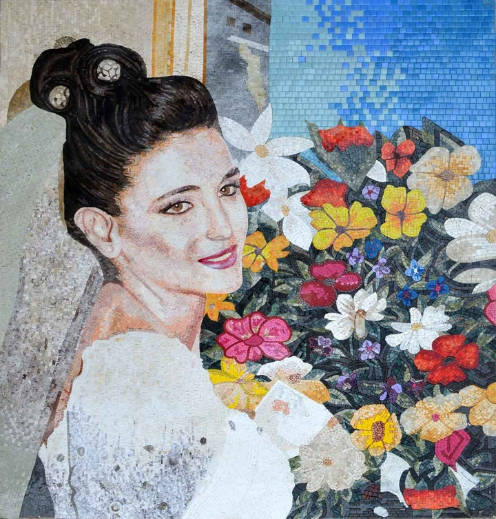 Custom Mosaic - Bride