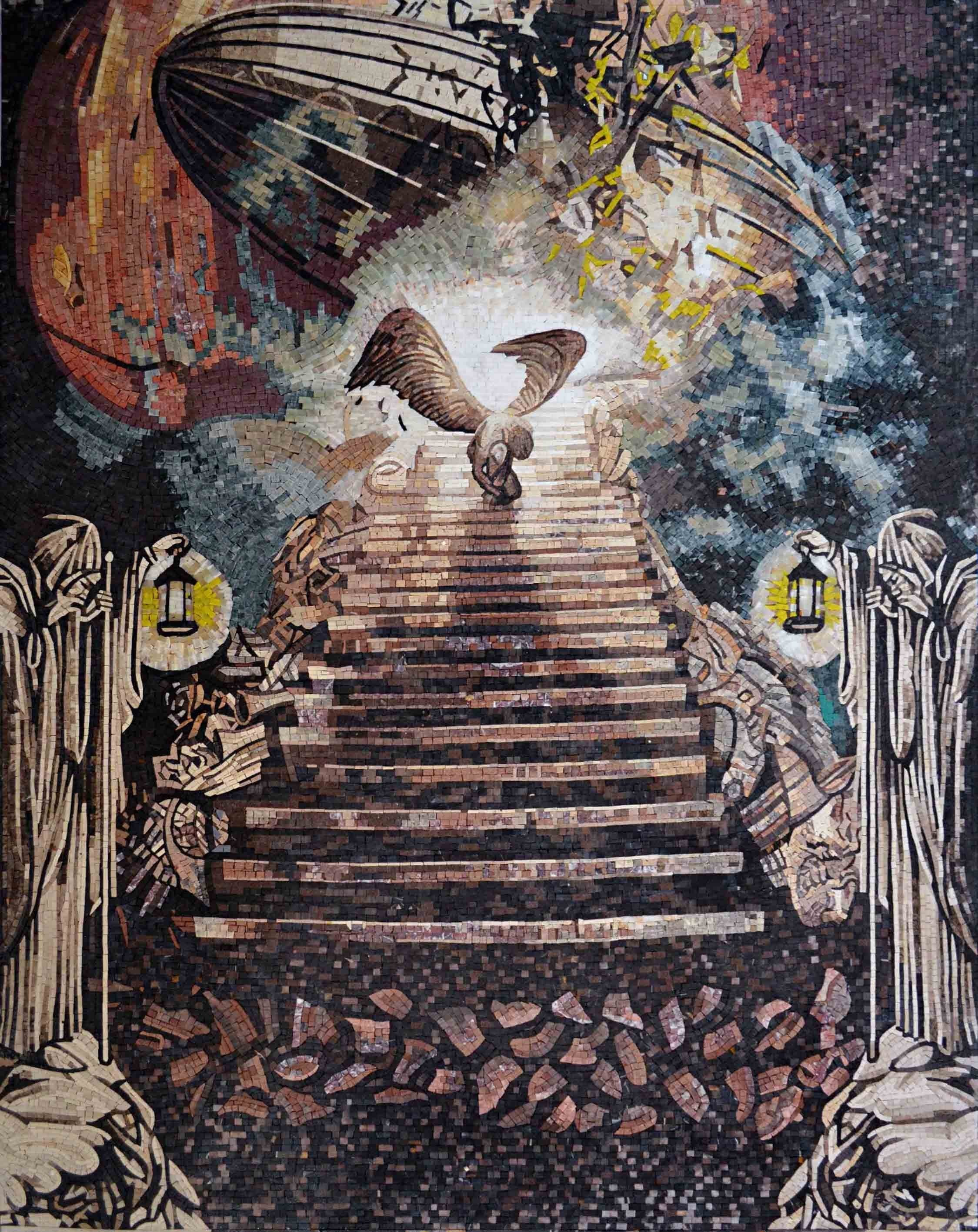 Mosaic Designs Stairway To Heaven Pic