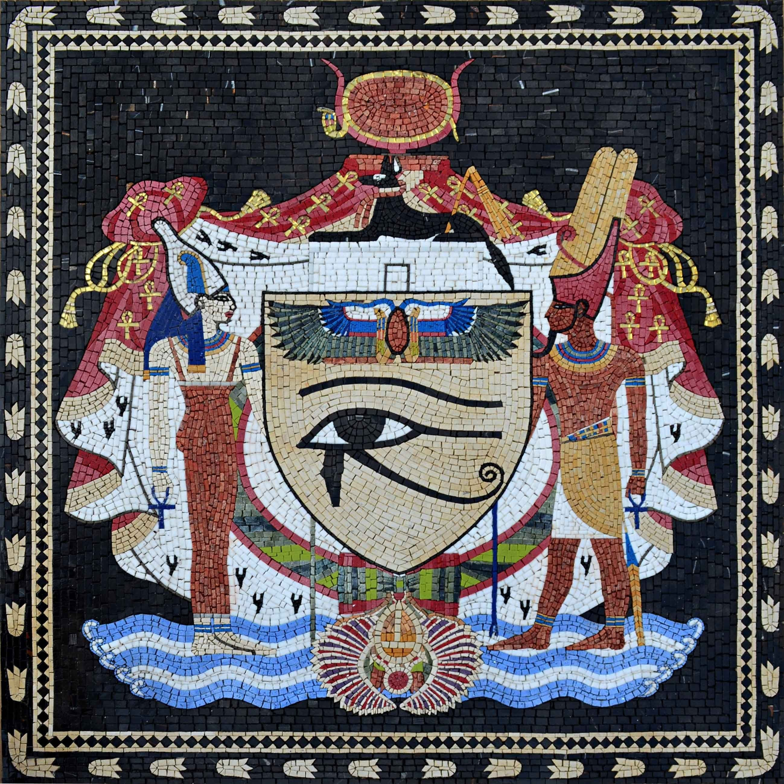 Custom Mosaics - Egypt Coat of Arms
