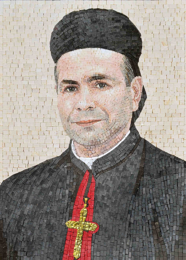 Custom Mosaic - Bishop Joseph Mouawad