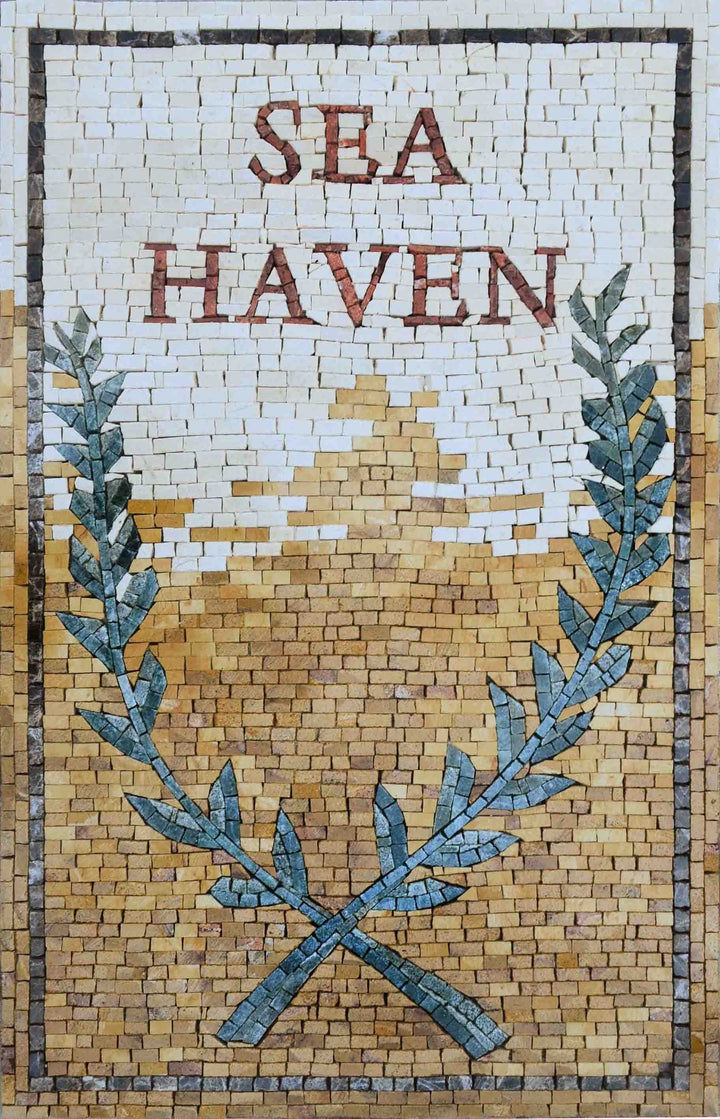 Custom Made Mosaic - Sea Haven