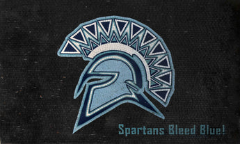 Mosaic Design - Spartans Blue