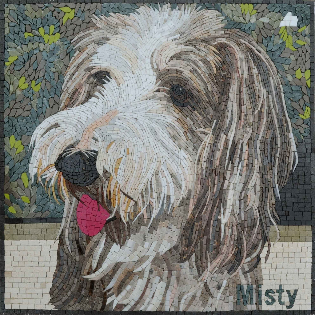 Custom Mosaic Pet - Tibetan Terrier