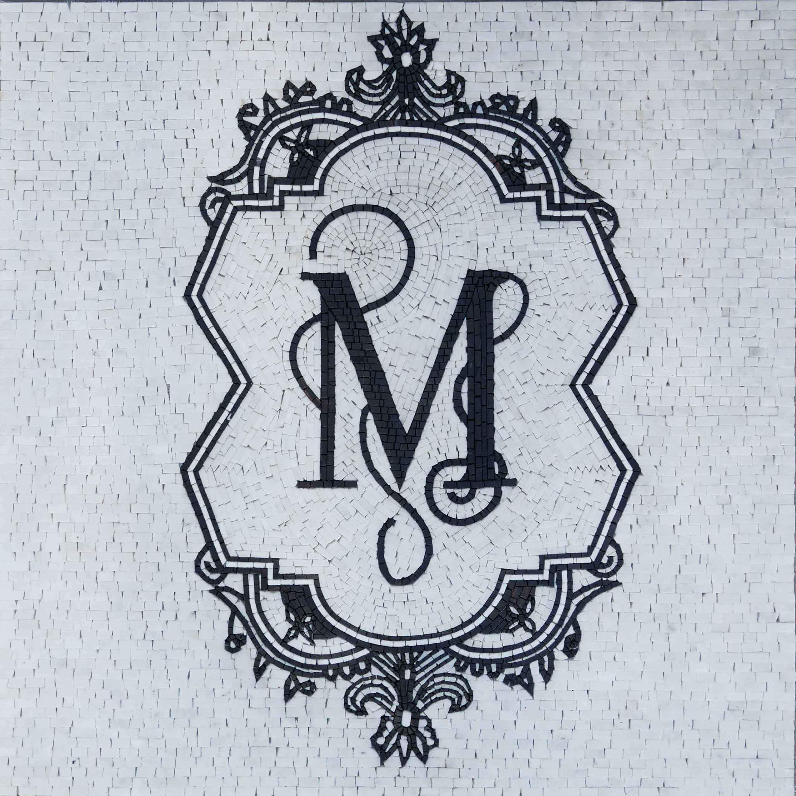 The Ornamented Initial Mosaic Art Pic