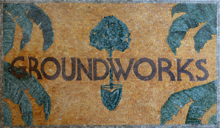 """Groundworks"" Custom Logo Mosaic"