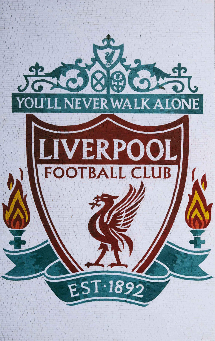 Liverpool Football Club - Custom Mosaic Art