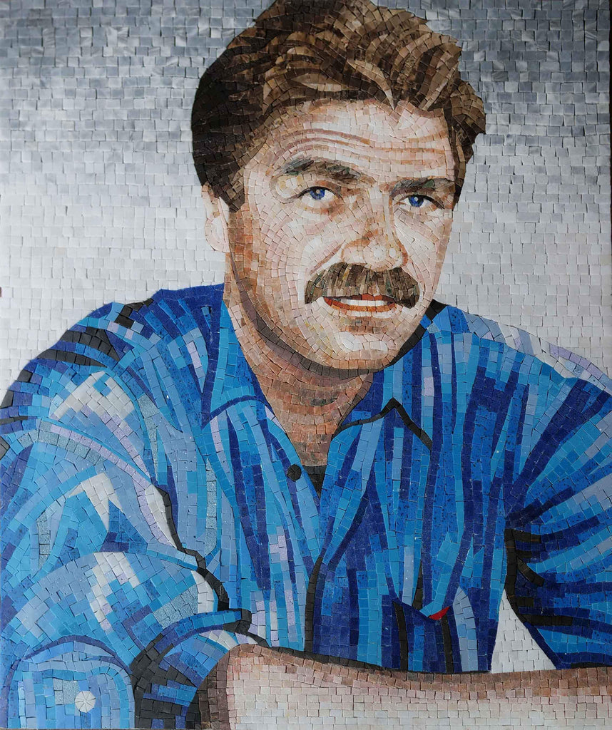 Custom Portrait Mosaic Art