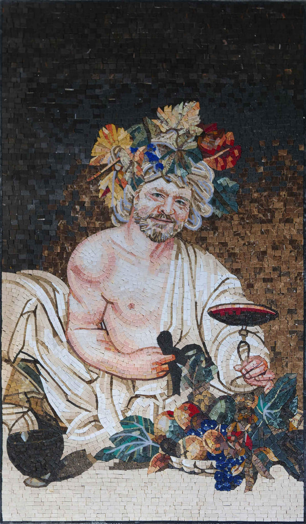 Custom Mosaic Portrait - Roman Aesthetic