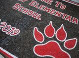 Custom Mosaic Design - Welcome to Waverly Elementary School