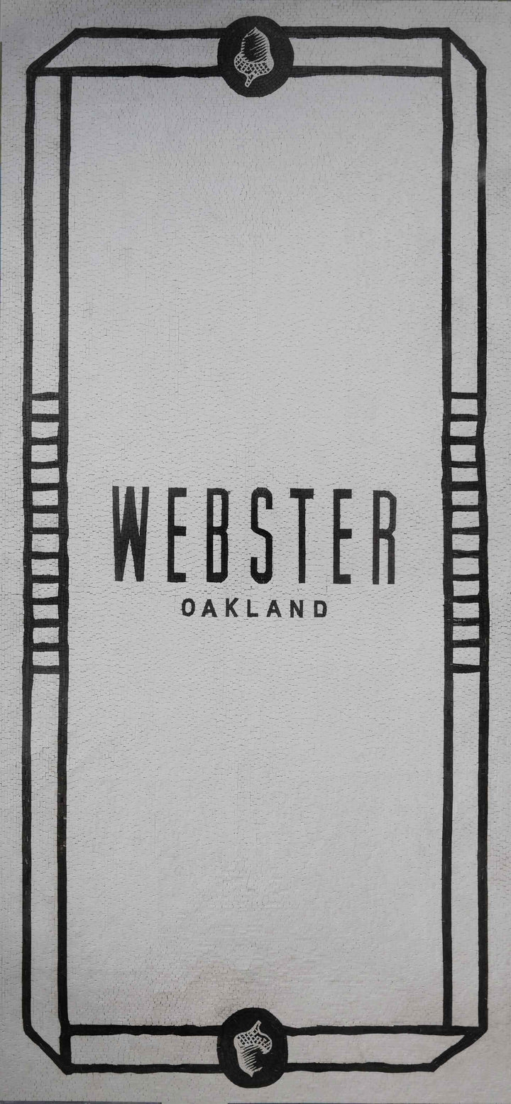 Custom Mosaic Art - Webster Oakland Vertical