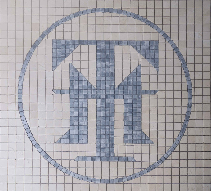 TM Custom Initial Mosaic Artwork
