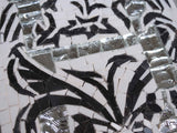 Dreamy Black & White Mosaic Pattern