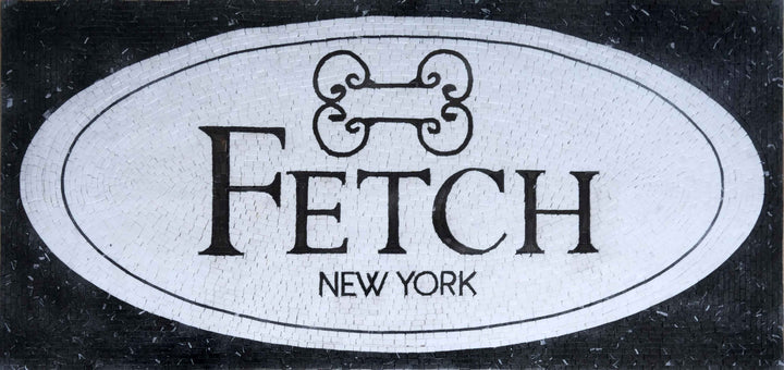 Fetch - Custom Mosaic Artwork | Signs-Logos | Mozaico