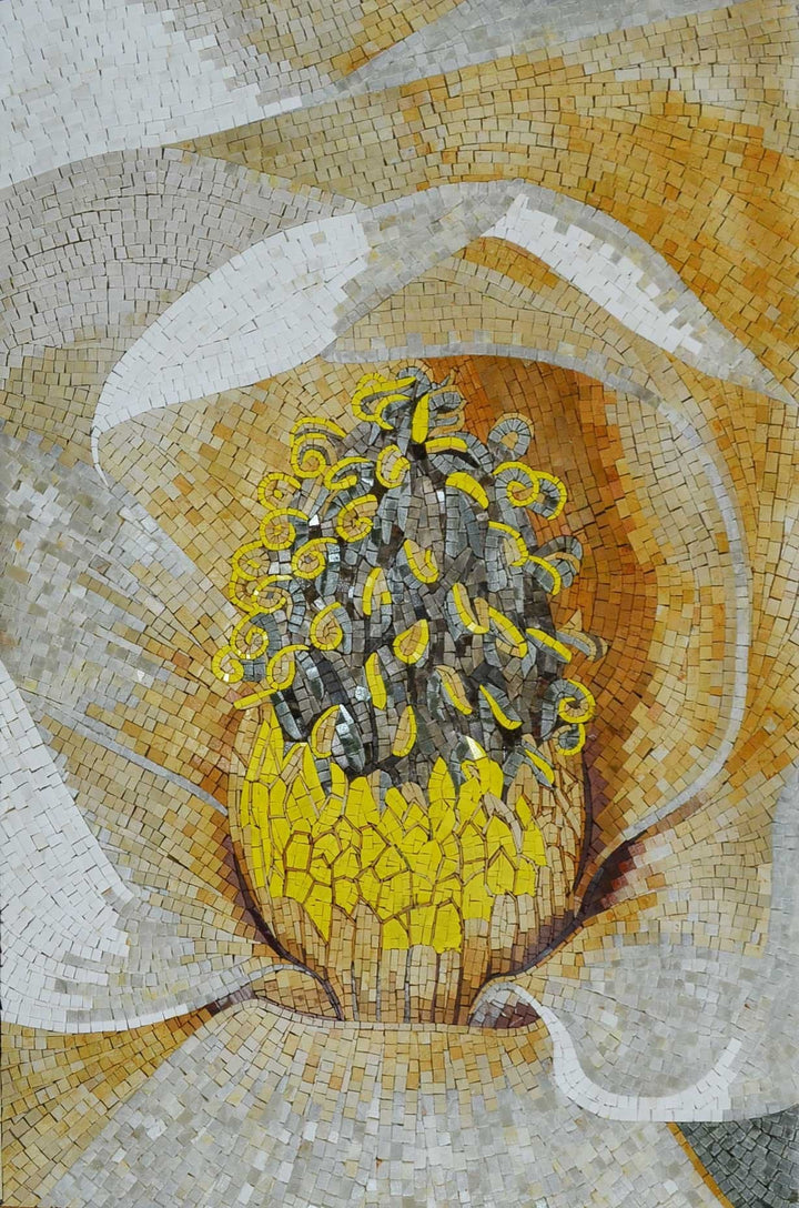 Marble Mosaic - Yellow Blossom