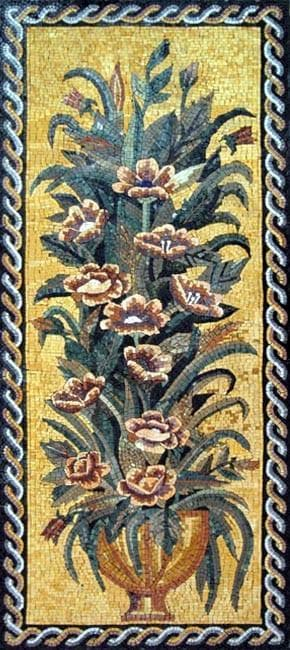 The Gothic Tulip Mosaic Design