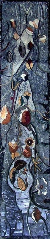 Mosaic Art Abstract Florals Pic