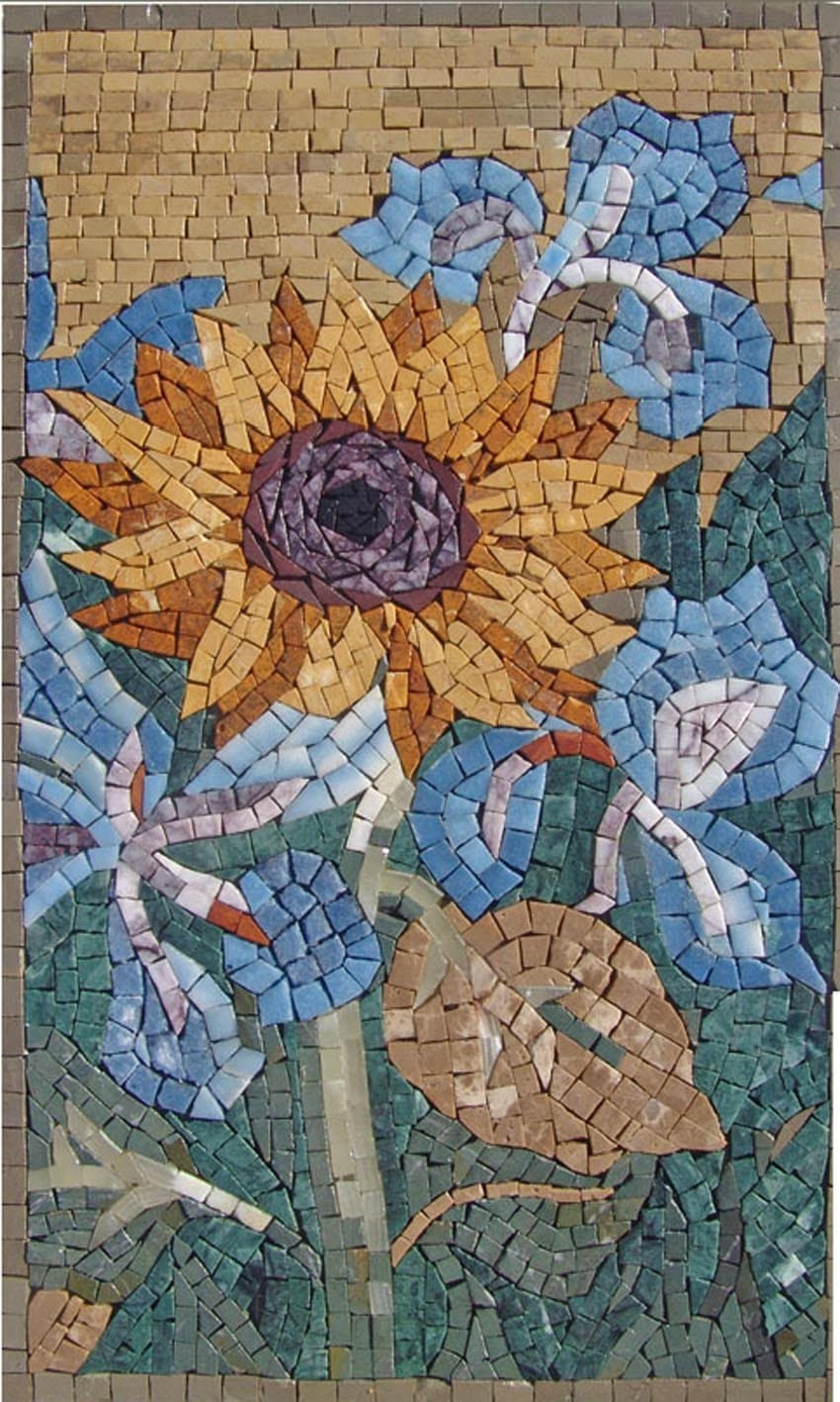 Contemporary SunFloral Art Mosaic
