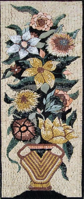 Jasmine and Dandelion Mosaic