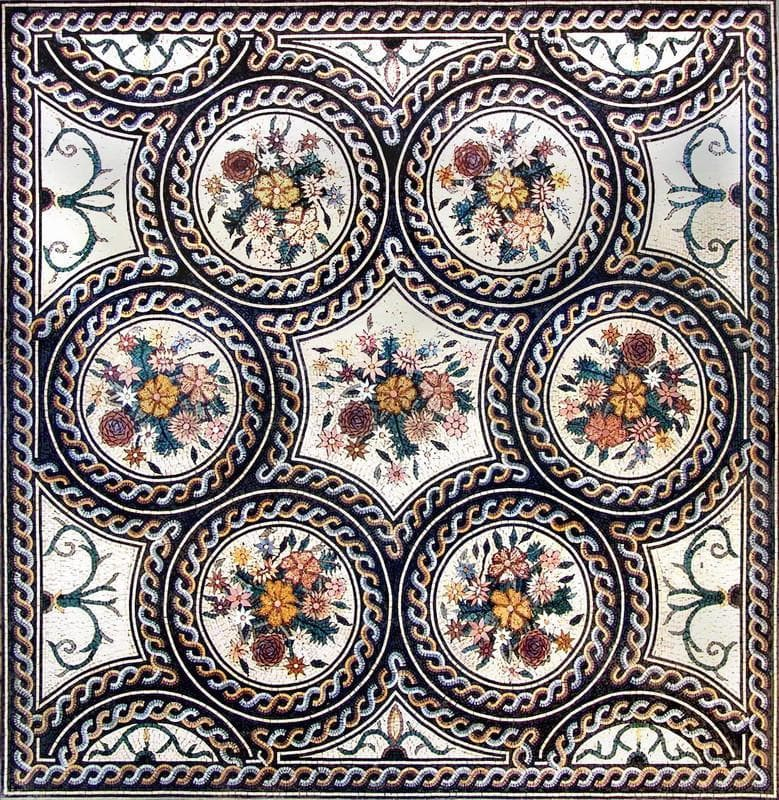 Marble Mosaic Art Pic