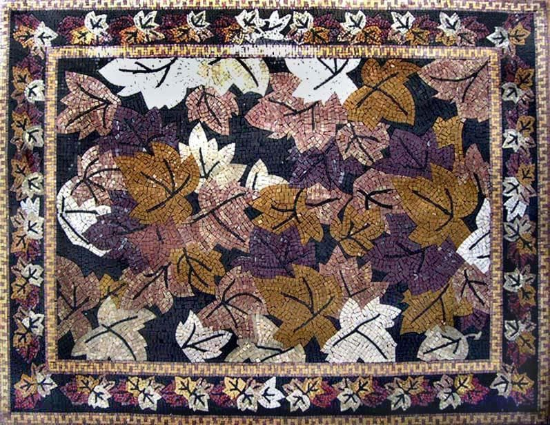 Autumn Leaves Mosaic Pic