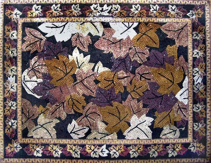 Autumn Leaves Mosaic