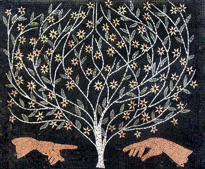 Mosaic Art - The Tree Of Creation