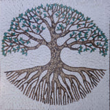 Tree of Life Mosaic Design