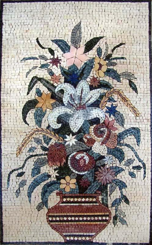 Mosaic Designs - Oriental Lily