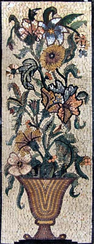 Mosaic Art - The Flower Pot