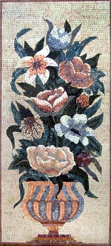Mosaic Art - The Roman Flower Pot